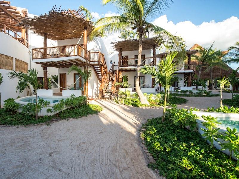Villas HM Palapas del Mar Isla Holbox, Mexiko